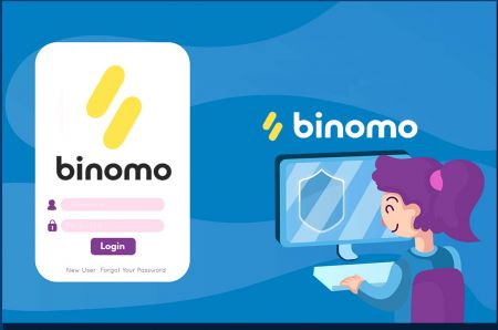 How to Open Account and Sign in to Binomo